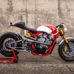"Honda Shadow 400 Cafe Racer ""Spitfire"" by XTR Pepo"