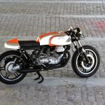 Moto Guzzi 850 T3 Cafe Racer by Nitro Cycles