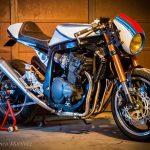 Suzuki GSXR 1100 Cafe Racer por Dino Maltoni
