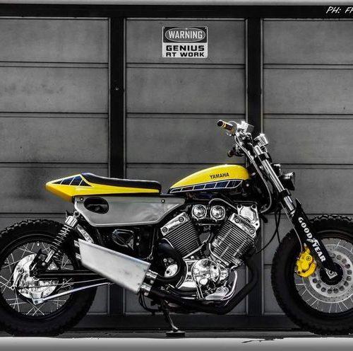Yamaha Virago 535 Flat Track