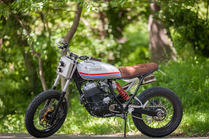 Yamaha XT 600 Scrambler 1992 by North Wheels & Zezen Motors