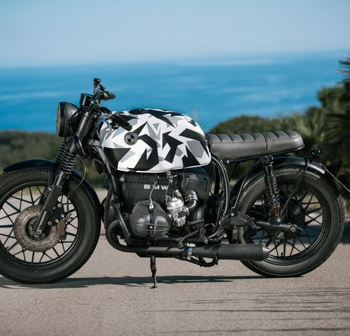 "BMW R45 Brat Style ""Ice bike"" by Races Garage"