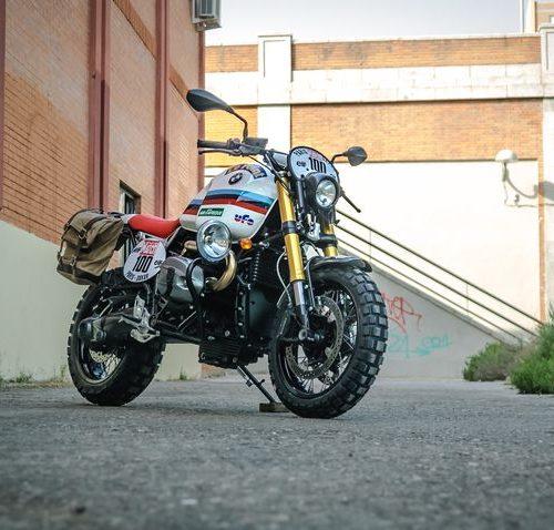 """BMW R nineT Scrambler """"Raid"""" by XTR Pepo"""