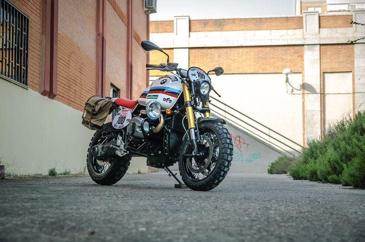 BMW R nineT Scrambler «Raid» by XTR Pepo