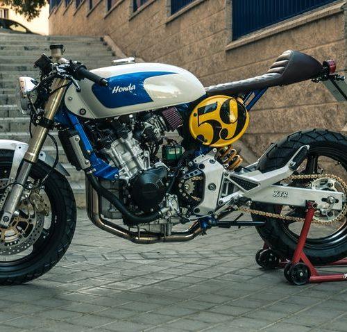 """Honda Hornet 600 Cafe Racer """"Sake Racer"""" by XTR Pepo"""