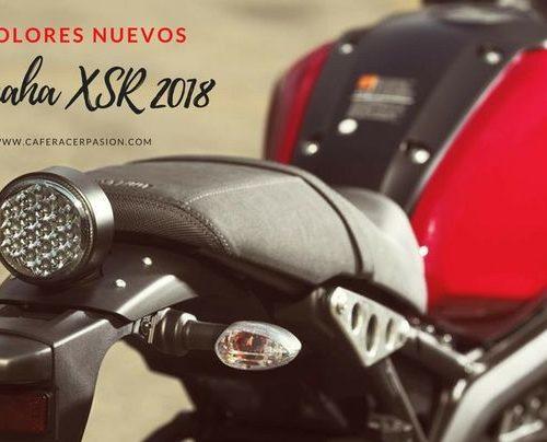 5 colores nuevos para la serie Yamaha XSR 2018