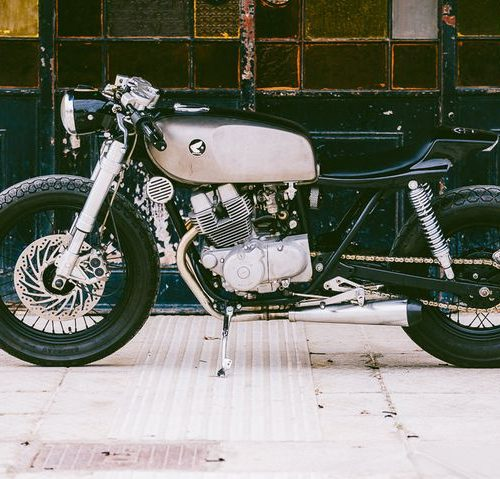 Honda Rebel 250 Cafe Racer by Jigsaw Customs