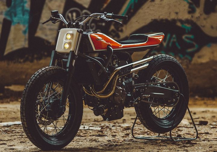 Yamaha XSR700 Flat Track