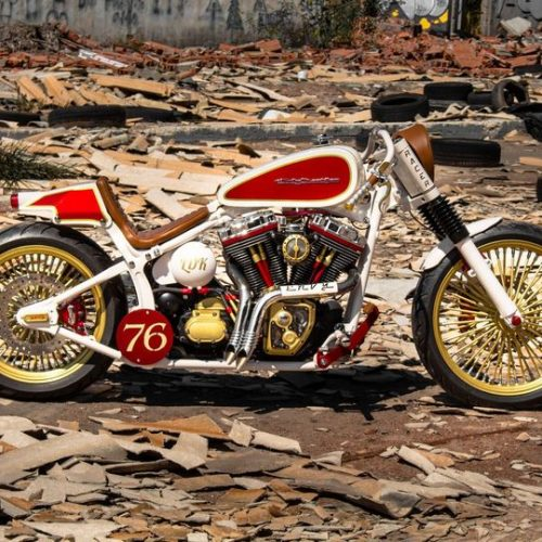 Harley-Davidson Fat Boy Cafe Racer by Lord Drake Kustoms