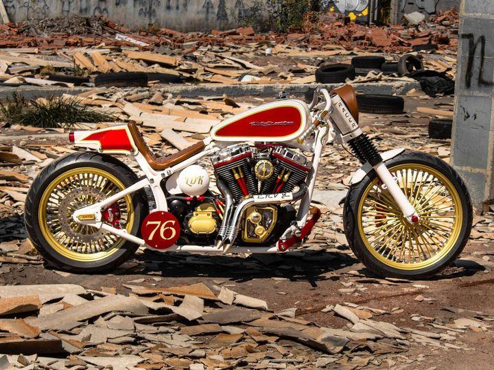 Harley-Davidson Fat Boy Cafe Racer