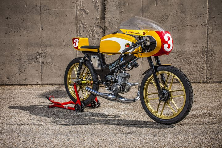 Moped Cafe Racer