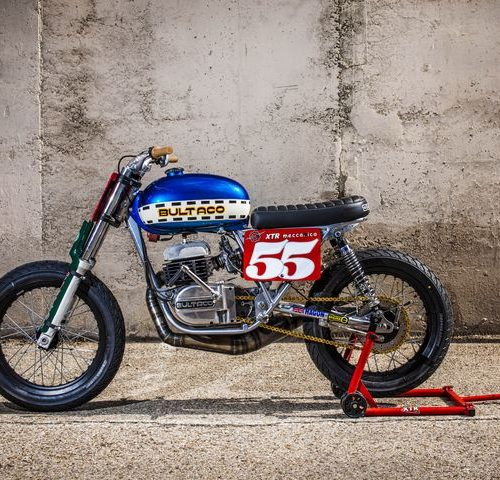 """Bultaco Lobito Street Tracker """"Astro"""" by XTR Pepo"""