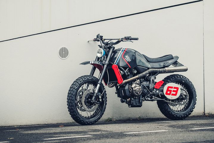 Yamaha XSR700 Scrambler by Maria Riding Company