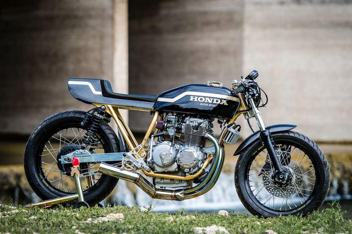 Honda CB400 Cafe Racer by Innovative Motorsports