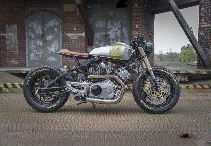 Yamaha XV920 Cafe Racer construida por Ugly Motors