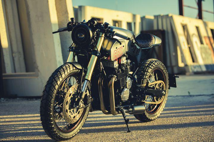 taller Cafe Racer de motos custom