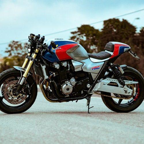 """Honda CB1300 Cafe Racer by Cafe Racer Pasión """"HRC version"""""""